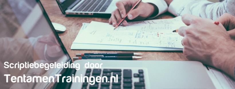 Scriptiebegeleiding door TentamenTrainingen.nl
